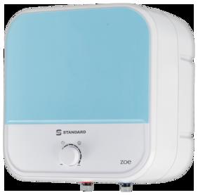 Standard Zoe 25L Storage Geyser (White & Blue)