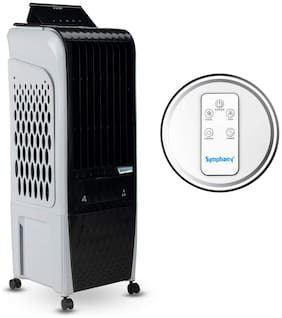 Symphony DIET 3D - 20I 20 L Tower Cooler ( Black & White )