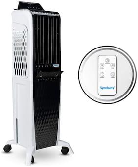 Symphony DIET 3D - 40I 40 L Tower Cooler ( Black & White )