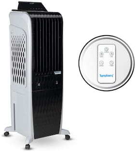 Symphony DIET 3D - 30I 30 L Tower Cooler ( Black & White )