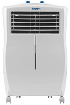 Symphony Ninja-i XL 17-Litre Air Cooler with Remote (White)-For small room