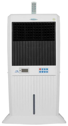 Symphony Storm 70i 70-Litre Air Cooler (White) - with Remote Control and i-Pure Technology