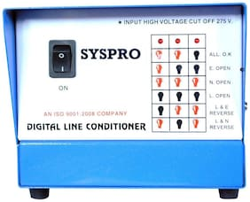 Syspro (DLCSSD84) Voltage Stabilizer For Television