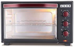 Usha 35 L Otg Microwave Oven - OTGW 3635RC , Red & Black