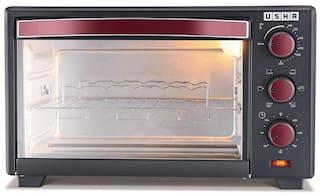 Usha 19 L Otg Microwave Oven - OTGW 3619R , Red & Black