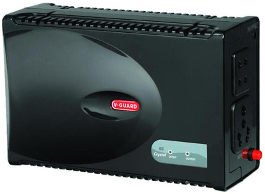 V Guard VG CRYSTAL Voltage Stabilizer For Television   Music system