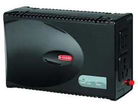 V-Guard VG Crystal Voltage Stabilizer (Black)
