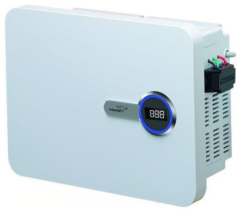 V Guard VNI 400 for Inverter AC Upto 1.5 ton  160v 280v  Voltage Stabilizer  White  by Granth Sales Corporation