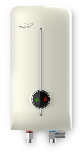 V-Guard Water Heater Victo Insta 3 L with free inlet, outlet hose