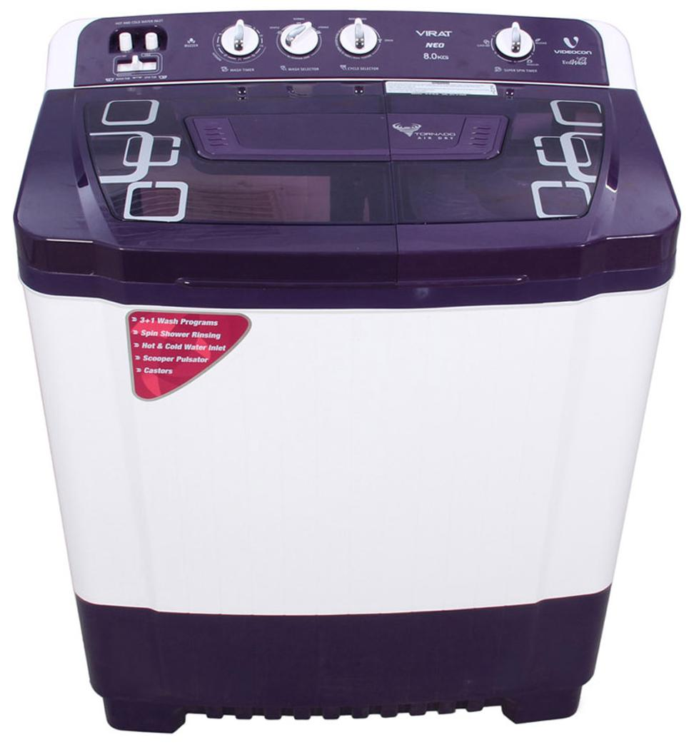 VIDEOCON VIRAT NEO VS80P15 8KG Semi Automatic Top Load Washing Machine