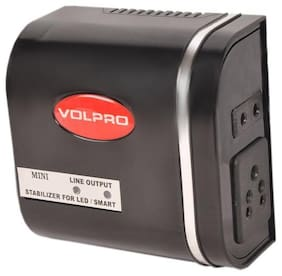 Volpro Volpro002 Voltage Stabilizer for Television (Black)