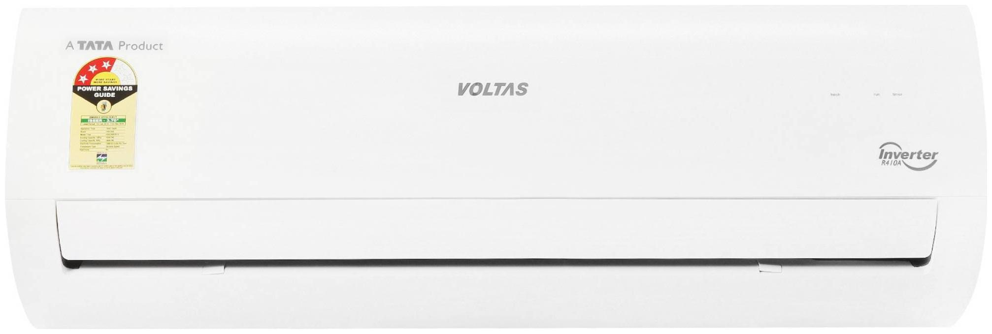 Voltas 1.5 Ton 3 star bee rating Inverter Split ac , 183VCZT3 , White   by Best Home Retail