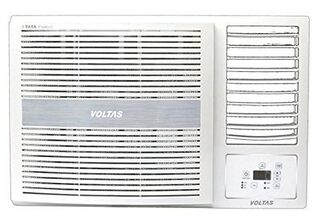 Voltas 1.5 Ton 5 Star Window AC (185 LZH, White)