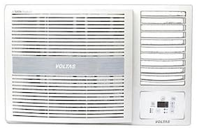 Voltas 1.5 Ton 5 Star Window AC (185 LZH, White) with Copper Condenser