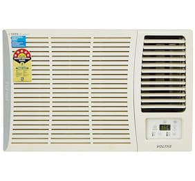 Voltas 1.5 Ton 5 Star Window AC (185 DZA, White) with Copper Condenser