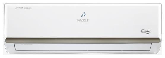 Voltas 1 Ton 3 Star Inverter Split AC (Copper Condensor, 123V EZL, White)