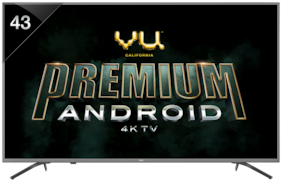 VU Smart 109.22 cm (43 inch) 4K (Ultra HD) LED TV - 43OA