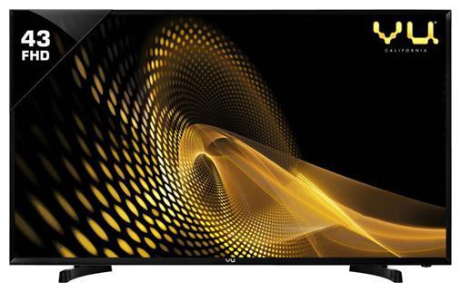 VU 109.22 cm  43 inch  Full HD LED TV   43S6575