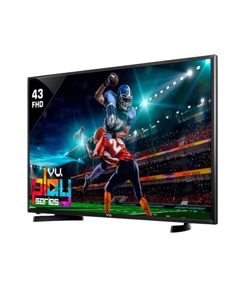 Vu 43 Inches Full HD LED Smart TV (43D6575, Black)