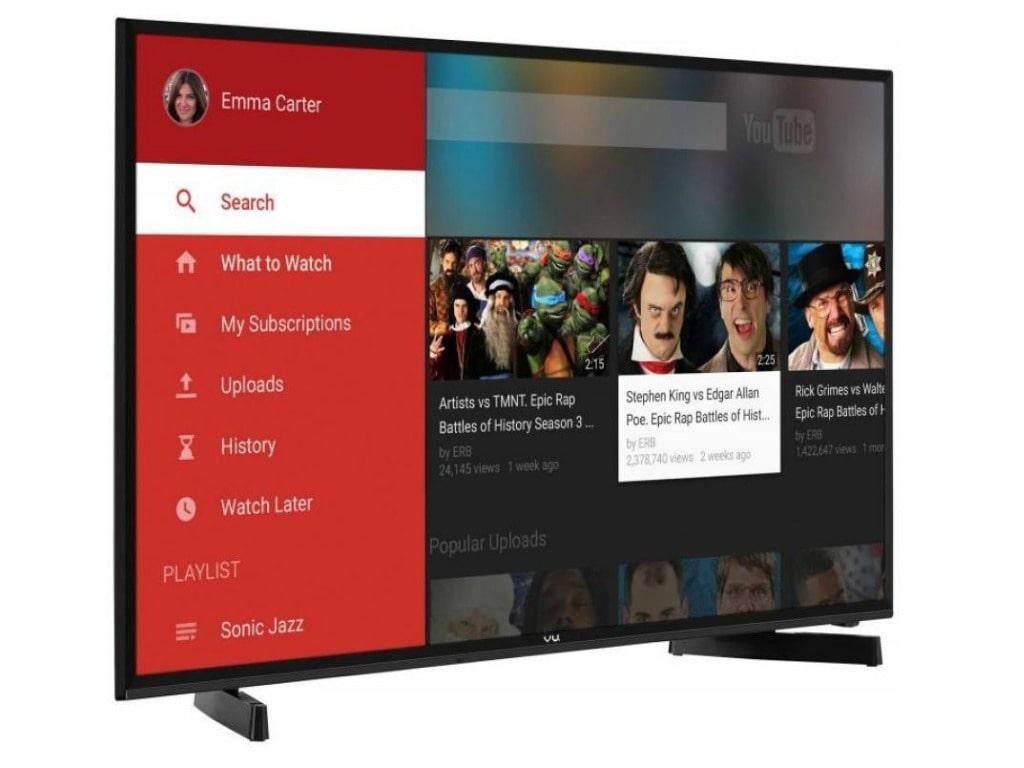 Vu 49 Inches Full HD LED Smart TV (49S6575, Black)