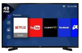 VU 124 cm (49 inch) 49S6575 Full HD Smart LED TV