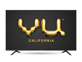 VU 127 cm (50 inch) 50sm 4K (Ultra HD) LED Smart TV (Black)