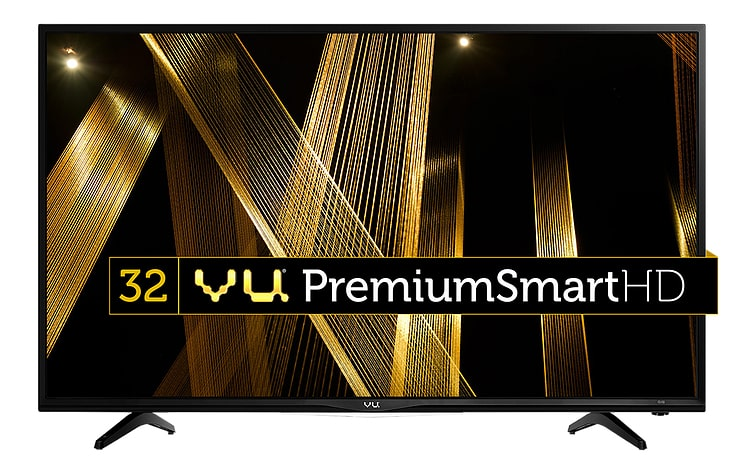 VU 80 cm (32 inch) 32D6475 HD Ready Smart LED TV