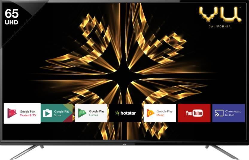 Vu 65 Inches Ultra HD (4K) LED Smart TV (VU/S/OAUHD65)