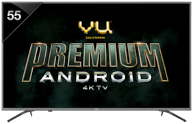 VU Smart 139.7 cm (55 inch) 4K (Ultra HD) LED TV - 55 to OA