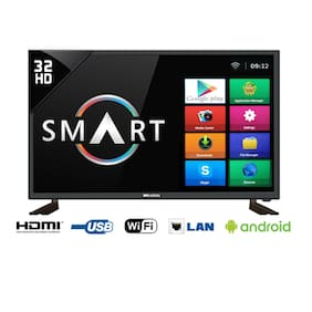 "Weston 80 cm (32"") HD/HD Ready LED TV WEL-3200S HDMI port -2  and USB- 2"