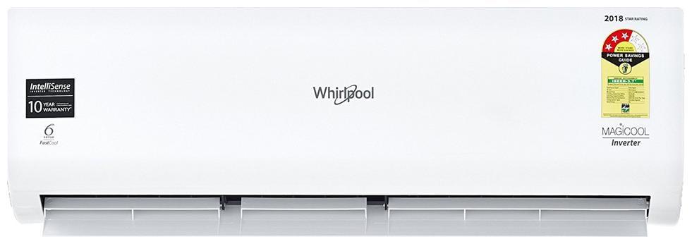 Whirlpool 1.5 Ton 3 star Inverter Split ac   Copper Coil , MAGICOOL INVERTERCOPR 3S 1.5 T , White