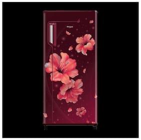 Whirlpool 245 L 3 star Direct cool Refrigerator - 260 IMPRO PRM , Wine hibiscus