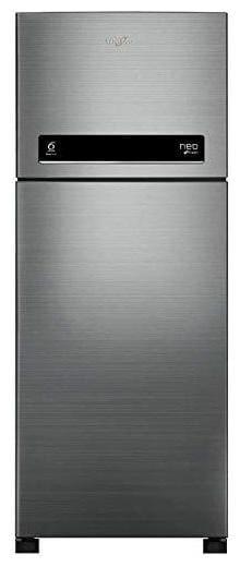 Whirlpool 265 L 2 star Frost free Refrigerator - NEO DF278 PRM , Arctic steel