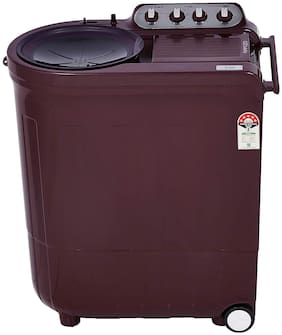 Whirlpool 7.5 Kg Semi automatic top load Washer with dryer - ACE 7.5 TRB DRY WINE DAZZLE (5YR) , Wine
