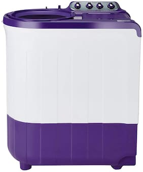 Whirlpool 7.5 Kg Semi automatic top load Washing machine - ACE 7.5 SUP SOAK (CORAL PURPLE) (5 YR) , Purple
