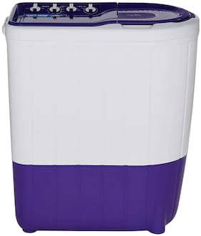 Whirlpool 7 Kg Semi automatic top load Washing machine - SUPERB ATOM 70S PPL 30199 , White & Purple