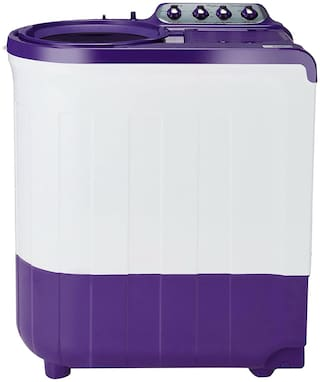 Whirlpool 7.5 kg Semi Automatic Top Load Washer with dryer - WHIRLPOOL 30160 ACE7.5 SUP SOAK C PURPLE , Coral purple