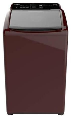 Whirlpool 7.5 Kg Fully automatic top load Washing machine - WHITE MAGIC ELITE 7.5 WINE 10 YMW 31371 , Maroon