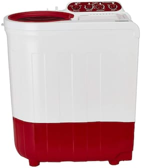 Whirlpool 7.2 Kg Semi automatic top load Washer with dryer - ACE SUPREME PLUS , Red