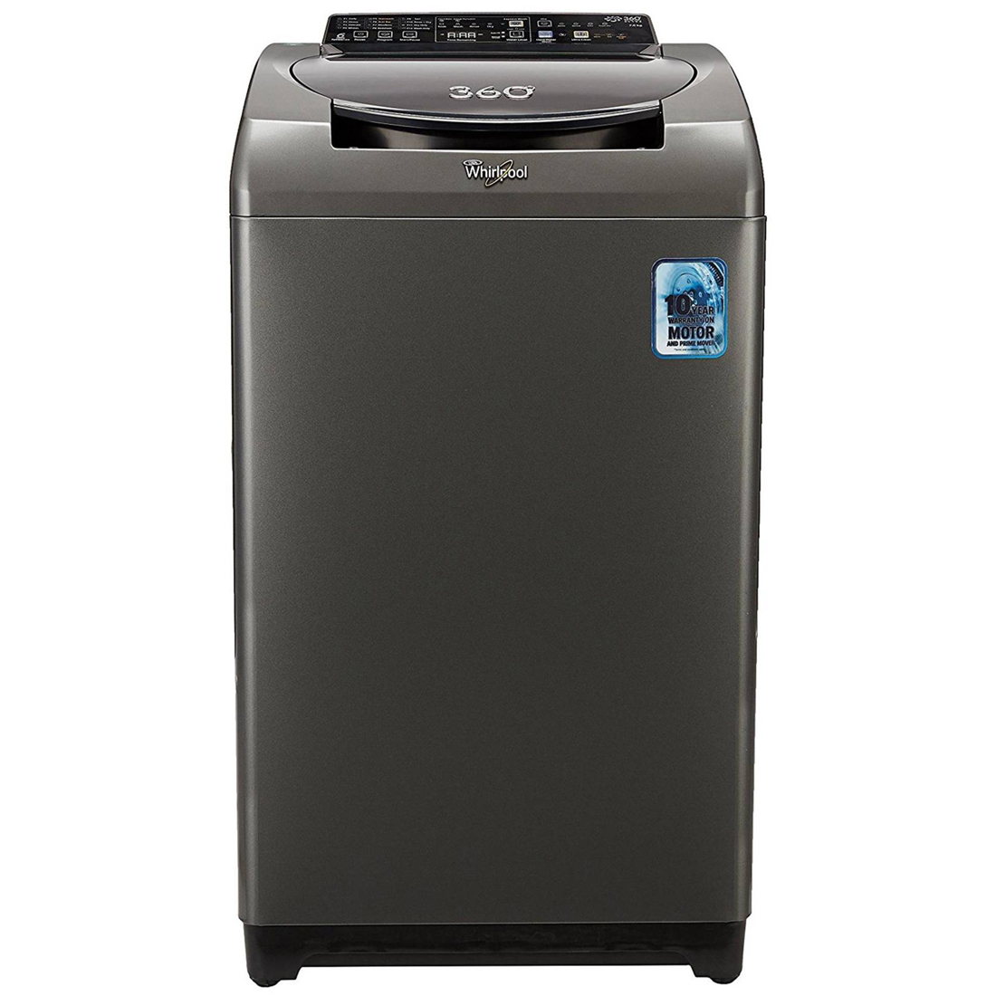 Whirlpool 7 Kg Fully-Automatic Top Loading Washing Machine (360 Degree Bloomwash Ultra 7.0  Graphite)