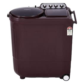 Whirlpool 8.5 kg Semi automatic top load Washer with dryer - ACE 8.5 TURBO DRY , Wine dazzle