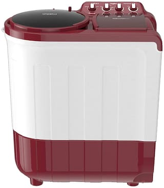 Whirlpool 8.5 kg Semi Automatic Top Load Washing machine - ACE 8.5 SUPERSOAK , Coral red