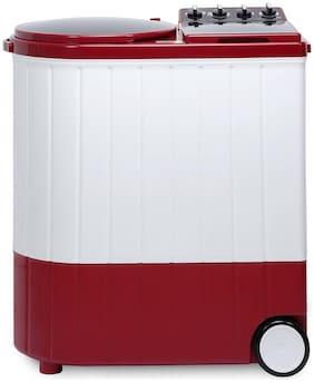 Whirlpool 9.5 Kg Semi automatic top load Washing machine - ACE XL 9.5 C.R 30173 , White & Maroon