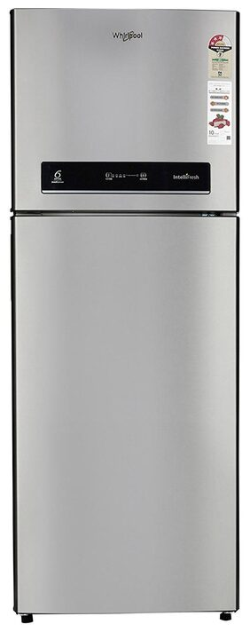 Whirlpool Frost Free 340 L Double Door Refrigerator ( If 355 Elite 3s 340 L Alpha Steel , Alpha Steel )