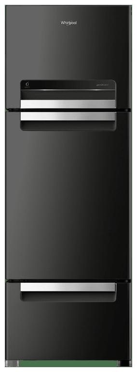 Whirlpool Frost Free 240 L Double Door Refrigerator ( Fp 263d Protton Roy , Caviar Black )