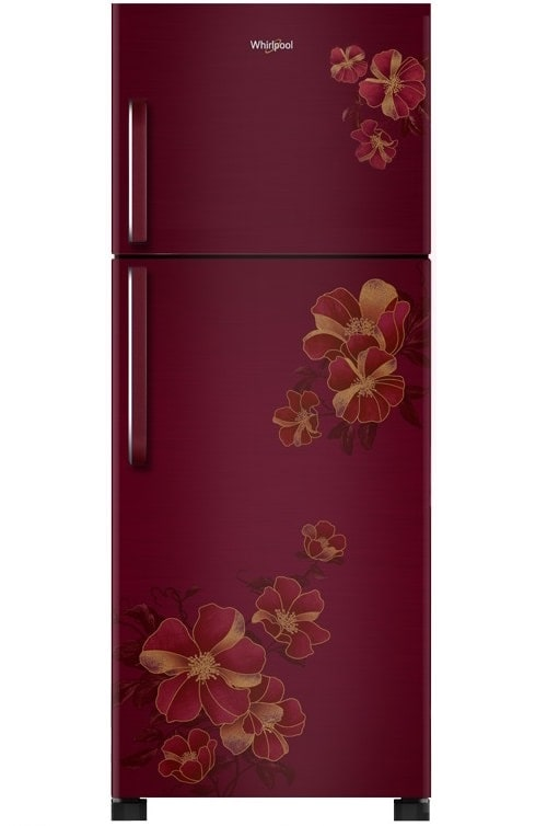 Whirlpool Frost Free 265L Double Door Refrigerator  NEO 278 PRM, Wine Electra  by Smart Tech
