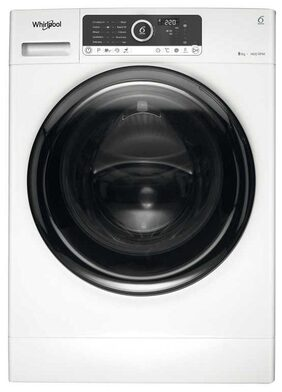 Whirlpool 8 kg Fully Automatic Front Load Washing Machine (Supreme Care 8014, White)