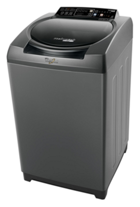 Whirlpool 6.5 kg Fully automatic top load Washing machine - STAINWASH ULTRA (N) 6.5 GRAPHITE 10 YMW , Grey
