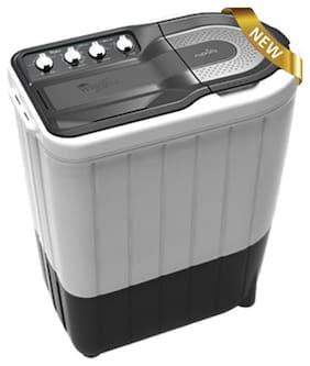 Whirlpool 6.5 Kg Semi automatic top load Washing machine - SUPERB ATOM 65S DARK GREY & WHITE 6.5 KG