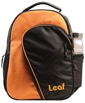 Leaf Tork Backpack For Laptop Size 15.6 Inch (Orange)